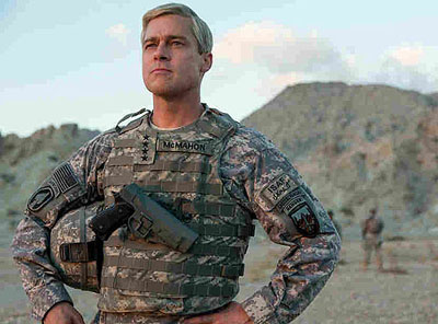 NEW! Brad Pitt  ('War Machine')