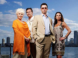 Bruce Campbell & Sharon Gless ('Burn Notice')