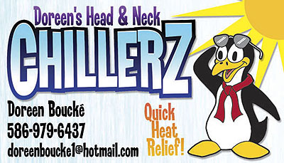DOREEN'S NECK & HEAD 'ChillerZ'